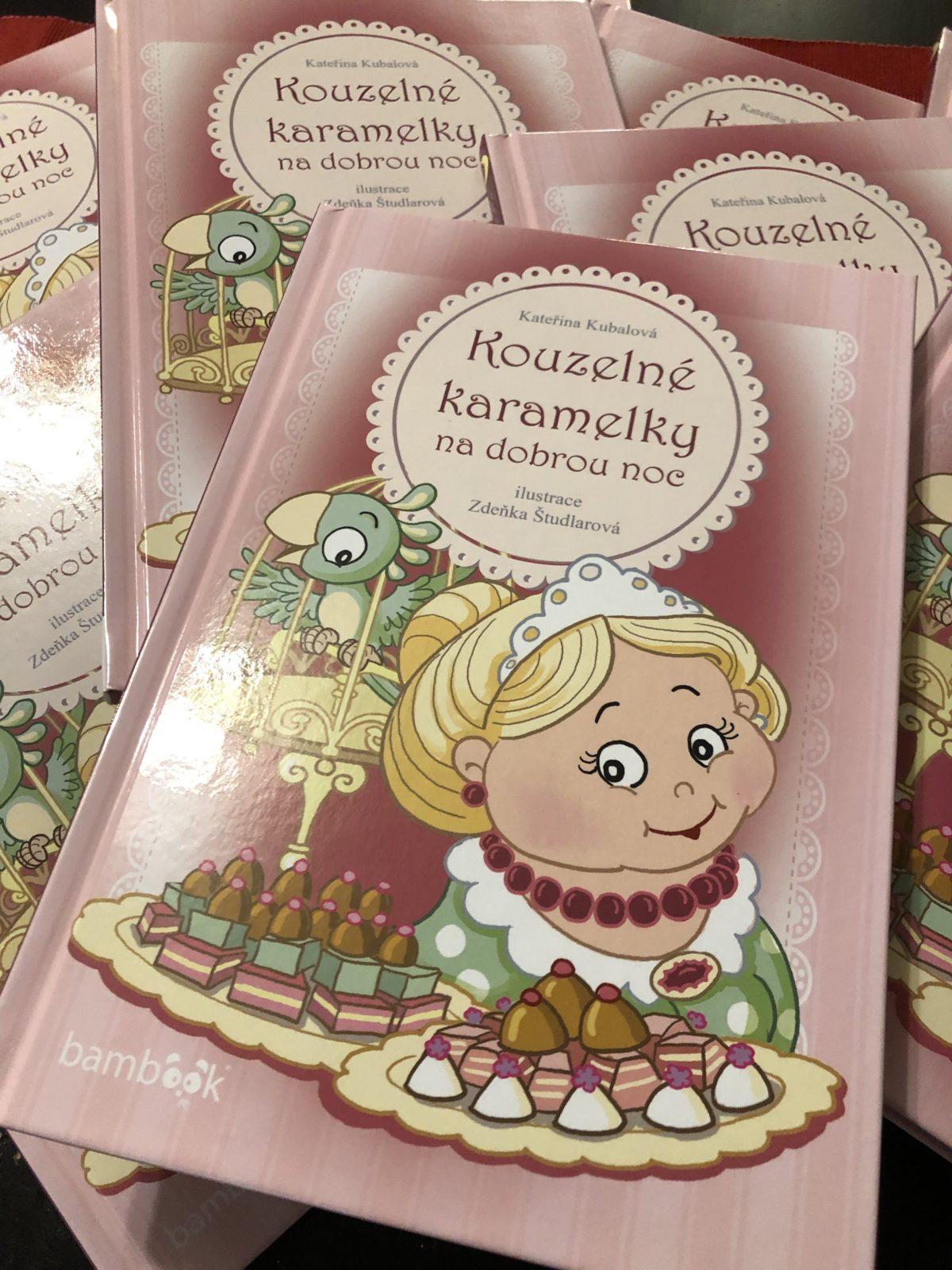 Kouzelné karamelky Katky Kubalové – konečně půvabná knížka pro nejmenší!